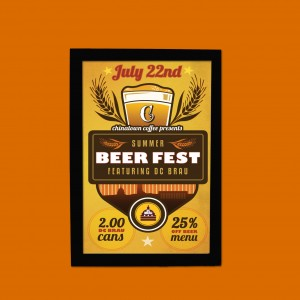 QUADRINHO  SUMMER BEER FEST FEATURING DC BRAU