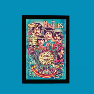 QUADRINHO BEATLES PEPPERS LONELY HEARTS CLUB BAND